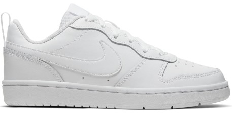 Nike Court Borough Low 2 Gs Bianco Laterale