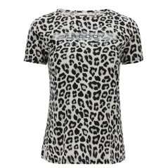 T-shirt Donna Slounge Viscosa Animalier