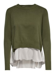 Sweater Women's Latisha Satin Front