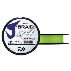Wire J-Braid X4 Yellow 135 m