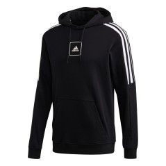 Herren Sweatshirt Stripes Tape Hoodie Front