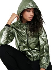 Jacket Woman Alicia Metalic Front