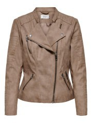 Jacket Woman Ava Eco Leather Front