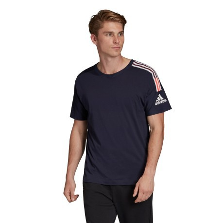 T-SHIRT Uomo Z.N.E. 3-STRIPES Frontale