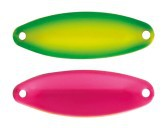 Esche artificiali Trout Area Spoon Iride 2,8 g Fronte Retro