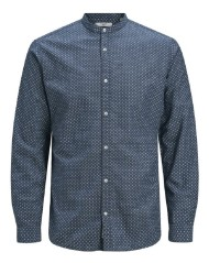 Man Shirt Mandarin Collar