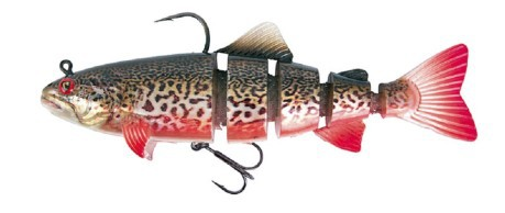 Artificiale Jointed Trout Replicant 18 cm