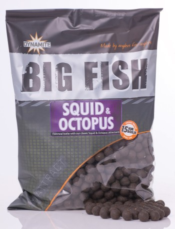 Boilies Hi-Attract Squid Octopus