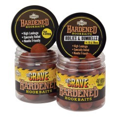 Dynamite Baits The Crave Hardened Hookbaits - Dumbells 14 mm & Boilies 15/20 mm