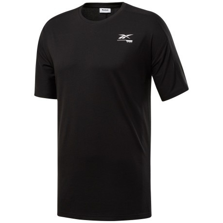 T-shirt Uomo Speedwick Move Nero Frontale