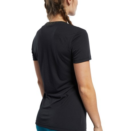 T-shirt Donna Crossfit Nero Frontale
