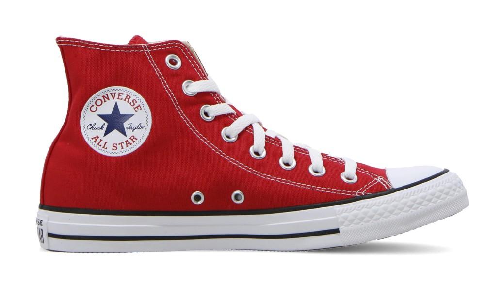 Scarpe All Star Hi Canvas Rosse Converse | eBay