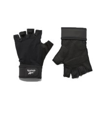 Gloves fitness Unisex One Series Black Front