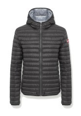 Down jacket Men Light with Fixed Hood