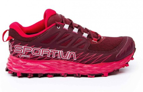 Scarponcino Trekking Donna Lycan Gtx Rosso Laterale