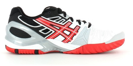 Tennis shoes Gel Resolution 5 colore White Red - Asics - SportIT.com cf33f65ef94
