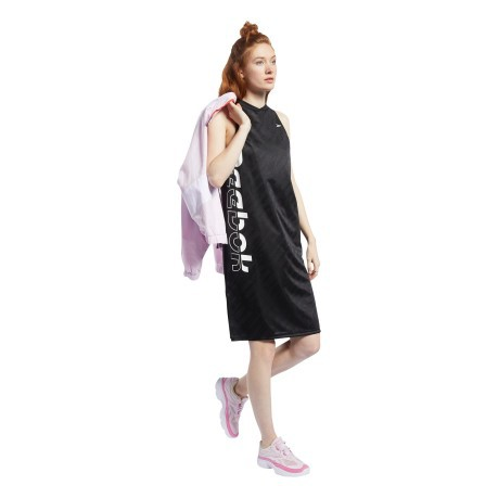 Abito Donna Meet You There Basketball Nero Frontale