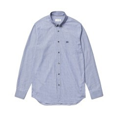 Man shirt Printed fancy blue