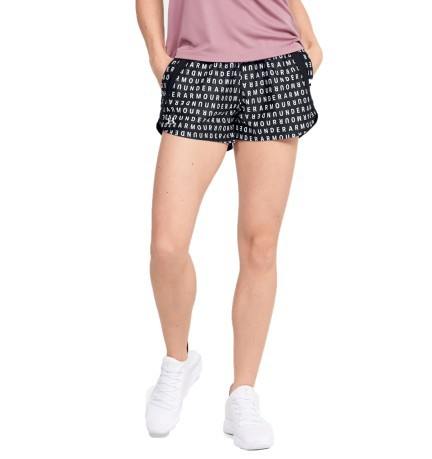 Short Donna Play Up 3.0 Print Frontale Nero