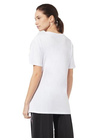 T-Shirt Donna Train Graphic bianco