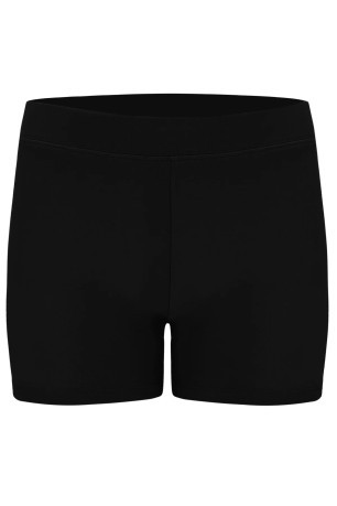 Short Donna Jersey Stretch nero