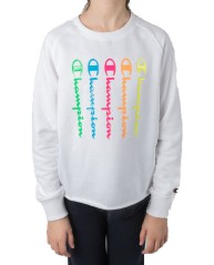 Sweat-Shirt Fille Fluo