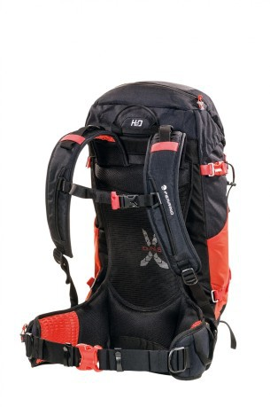 Backpack Dry Hike 32 black red