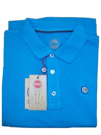 Polo man Piquet colore Light blue - Colmar Originals - SportIT.com 350142f3128