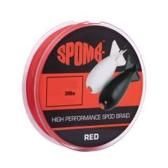 Trecciato Spomb Braid Red 300 m