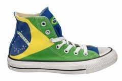 Scarpe uomo Hi Canvas Graphic