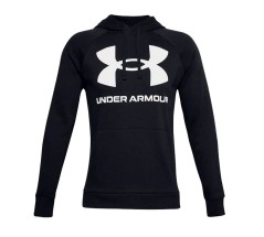 UA Rival Fleece Big Logo nero