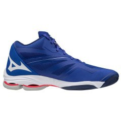 Scarpe Volley Donna Wave Lightning Z6 Mid azzurro