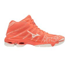 Scarpe Volley Donna Wave Voltage Mid rosa