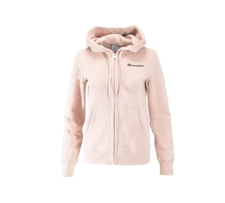 Felpa Donna American Classic Full Zip Hooded rosa