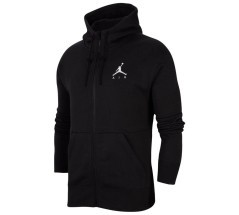 Felpa Uomo Jordan Jumpman Air Fleece Full Zip grigio