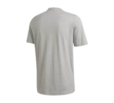 T-Shirt Uomo Must Haves Badge of Sport grigio