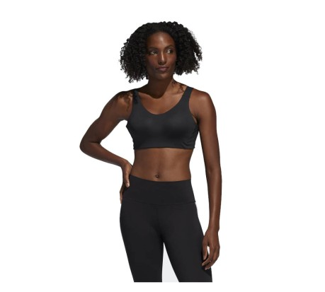 Bra Sportivo Donna Stronger For It Alpha nero