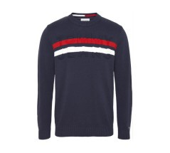 Felpa Uomo TJM Block Stripes Sweater blu