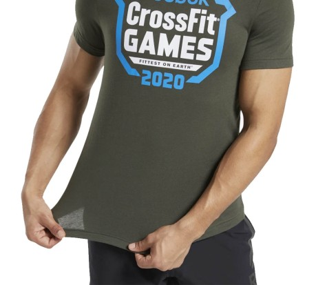 T-Shirt Uomo RC CrossFit Games Crest Tee bianco