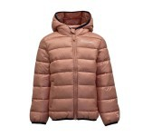 Piumino Girl Ecodown Hooded Axl nero