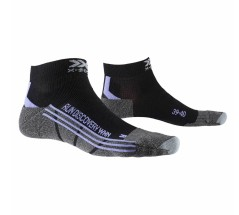 Calze Running Donna DIscovery 4.0 nero viola