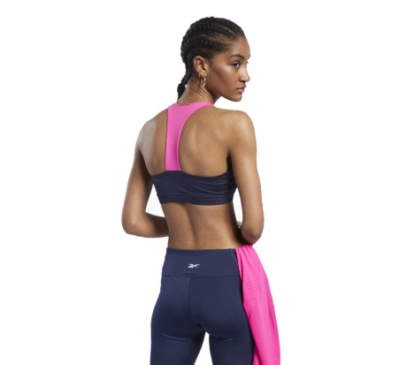 Bra Donna Workout Ready Medium-Impact Padded blu rosa