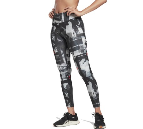 Tight Donna Workout Ready MYT Printed New Aop blu