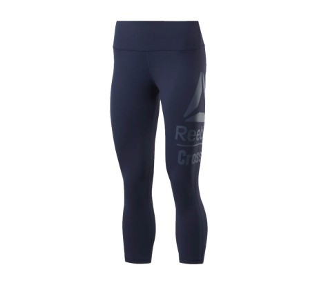 Tight Donna RC CrossFit Lux 3/4 Large Branded blu