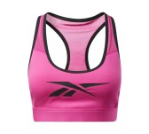 Bra Donna Hero Medium-Impact Racer Pad bianco
