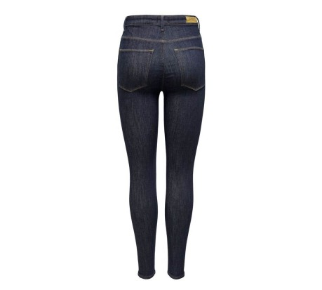 Jeans Donna Ask Hush Lif Mid Ankle Rinse Skinny blu