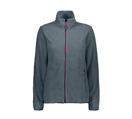 Pile Donna Jacket HighLoft Full Zip +6 grigio rosa