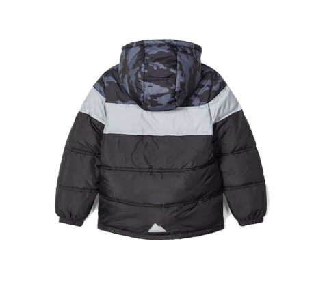 Giacca Junior Milius Puffer Jacket nero