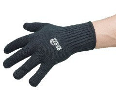 Guanti Pesca Technical Merino Glove nero
