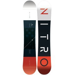 Tavola Snowboard Uomo Team Gullwing rosso nero
